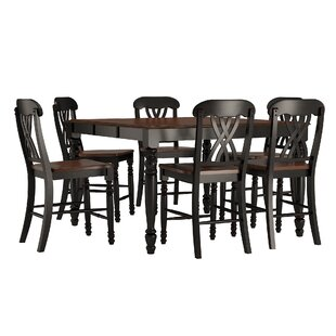 Heidi 7 Piece Counter Height Dining Set Alcott Hill