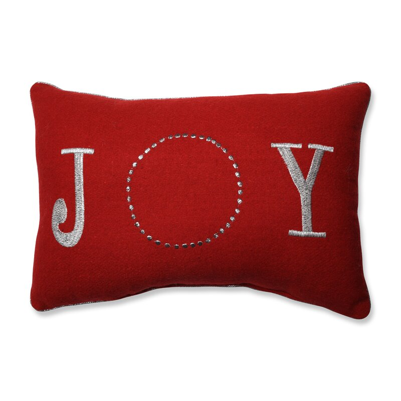 Glitzy Joy 100% Felt Lumbar Pillow