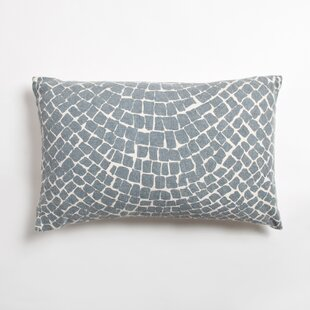 Cobblestone Indoor/Outdoor Cotton Lumbar Pillow