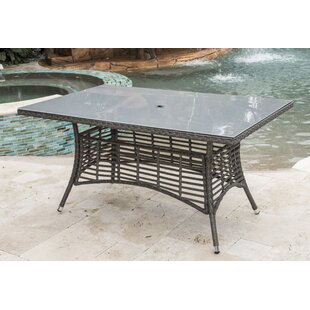 Graphite Glass Dining Table by Panama Jac..