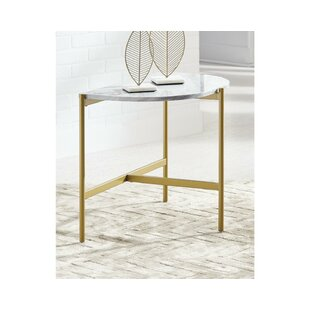 Half Circle Metal End Side Tables You Ll Love In 2021 Wayfair