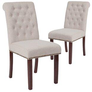 Skirted Parsons Dining Chair Wayfair