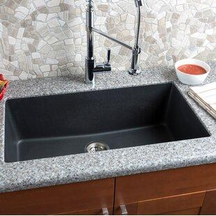 33 L X 18 5 W Granite Extra Large Single Bowl Kitchen Sink