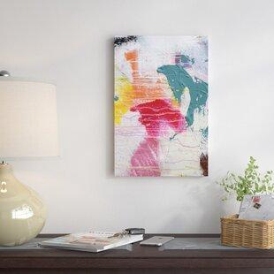 u0027Texture VIIIu0027 Wall Art on Wrapped Canvas & Textured Wall Art | Wayfair