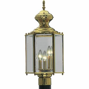 Read Reviews Triplehorn 3-Light Lantern Head in Brass By Alcott Hill