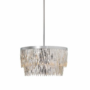Best Reviews Lacluta 6-Light Drum Chandelier By Everly Quinn