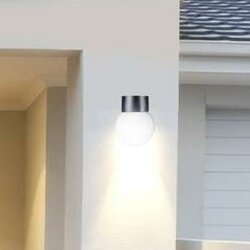 Exterior 1-Light Outdoor Sconce