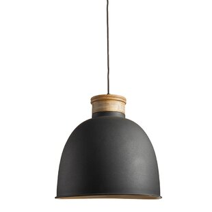 Corum 1-Light Bell Pendant by George Oliver