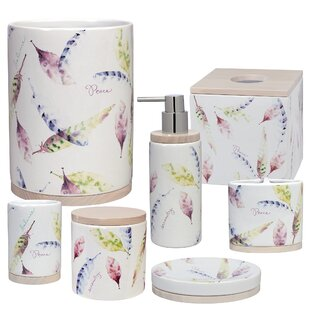 Clearance Cheverny 7 Piece Bathroom Accessory Set By August Grove