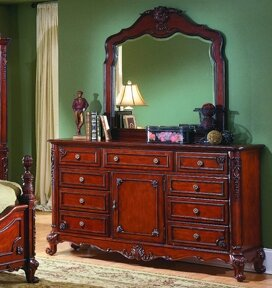 Inexpensive Ellsworth 9 Drawer Combo Dresser with Mirror by Astoria Grand