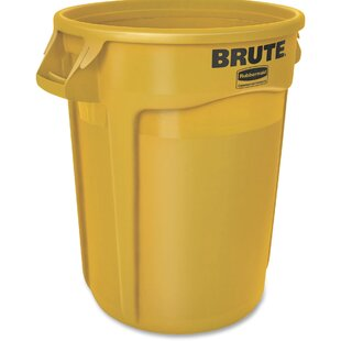 Brute 32 Gallon Curbside Trash & Recycling Bin By Rubbermaid Commercial Products