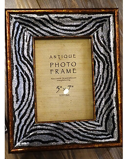 Kmpg Zebra Print Mdf Picture Frame Wayfair