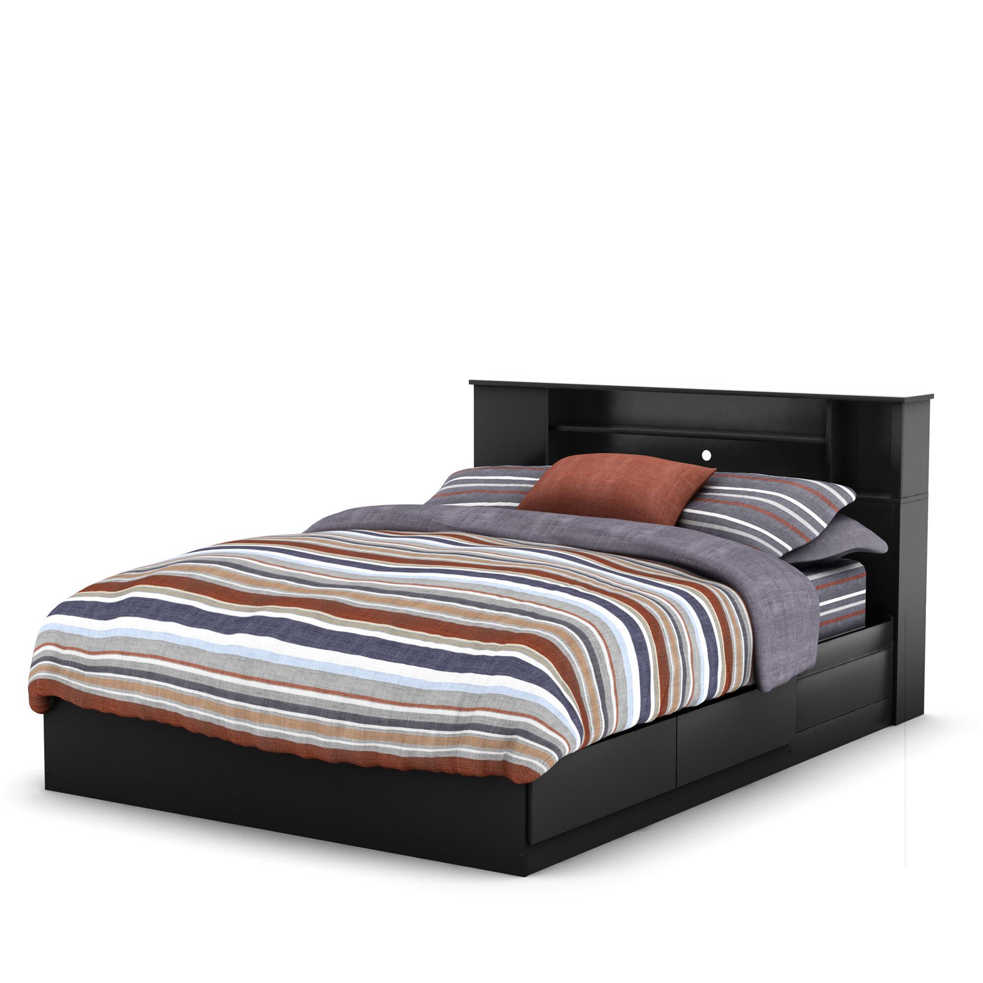 Mates Queen Storage Platform Bed