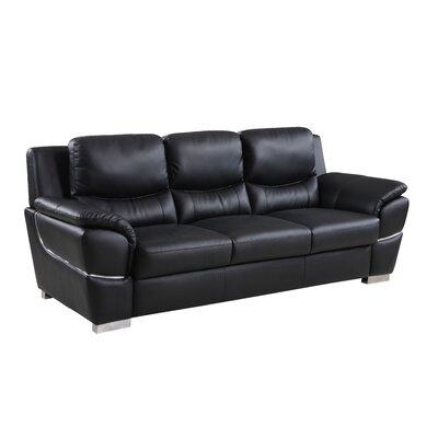 Italian Top Grain Leather Sofa Wayfair