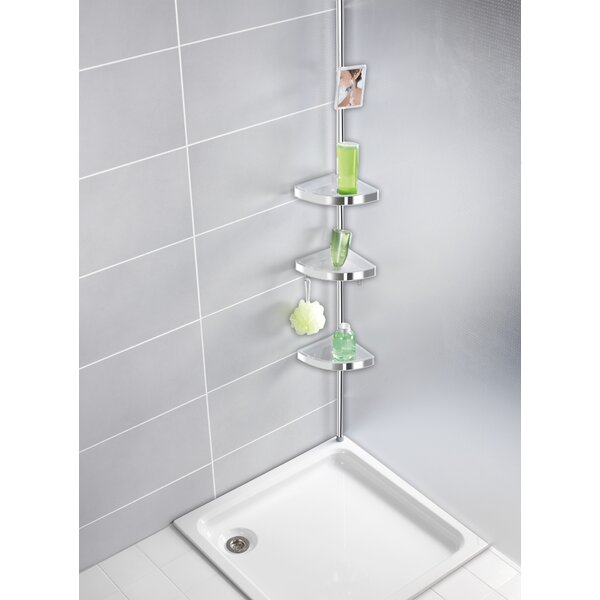 Wenko Freestanding Shower Caddy Amp Reviews Wayfair Co Uk