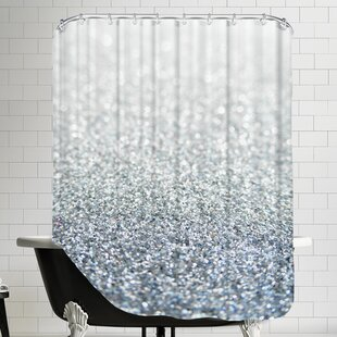 Shiny Glitter Shower Curtain