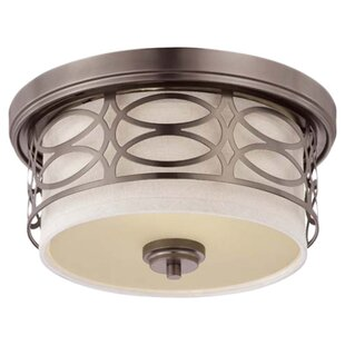 Willa Arlo Interiors Addisin 2-Light Flush Mount