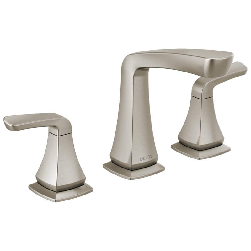 Delta Vesna Widespread Bathroom Faucet With Drain Assembly Reviews Wayfair