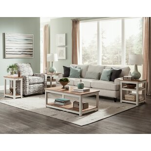 Rosecliff Heights Gilmore 3 Piece Coffee Table Set