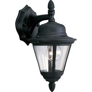 Triplehorn 1-Light Metal Classic Wall Lantern