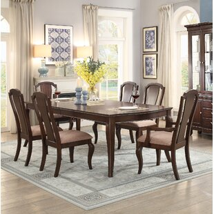 Kameron 7 Piece Extendable Dining Set by DarHome Co Spacial Price