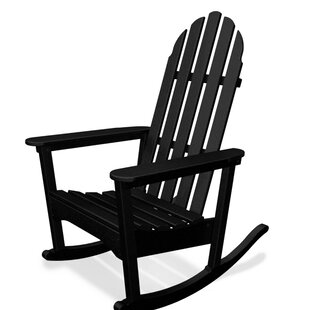 Classic Plastic Rocking Adirondack Chair by POLYWOOD®