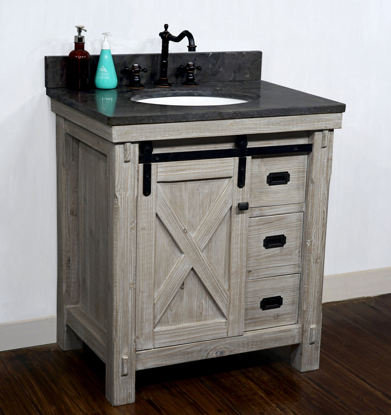 Gracie Oaks Blacfore 31 Single Bathroom Vanity Wayfair