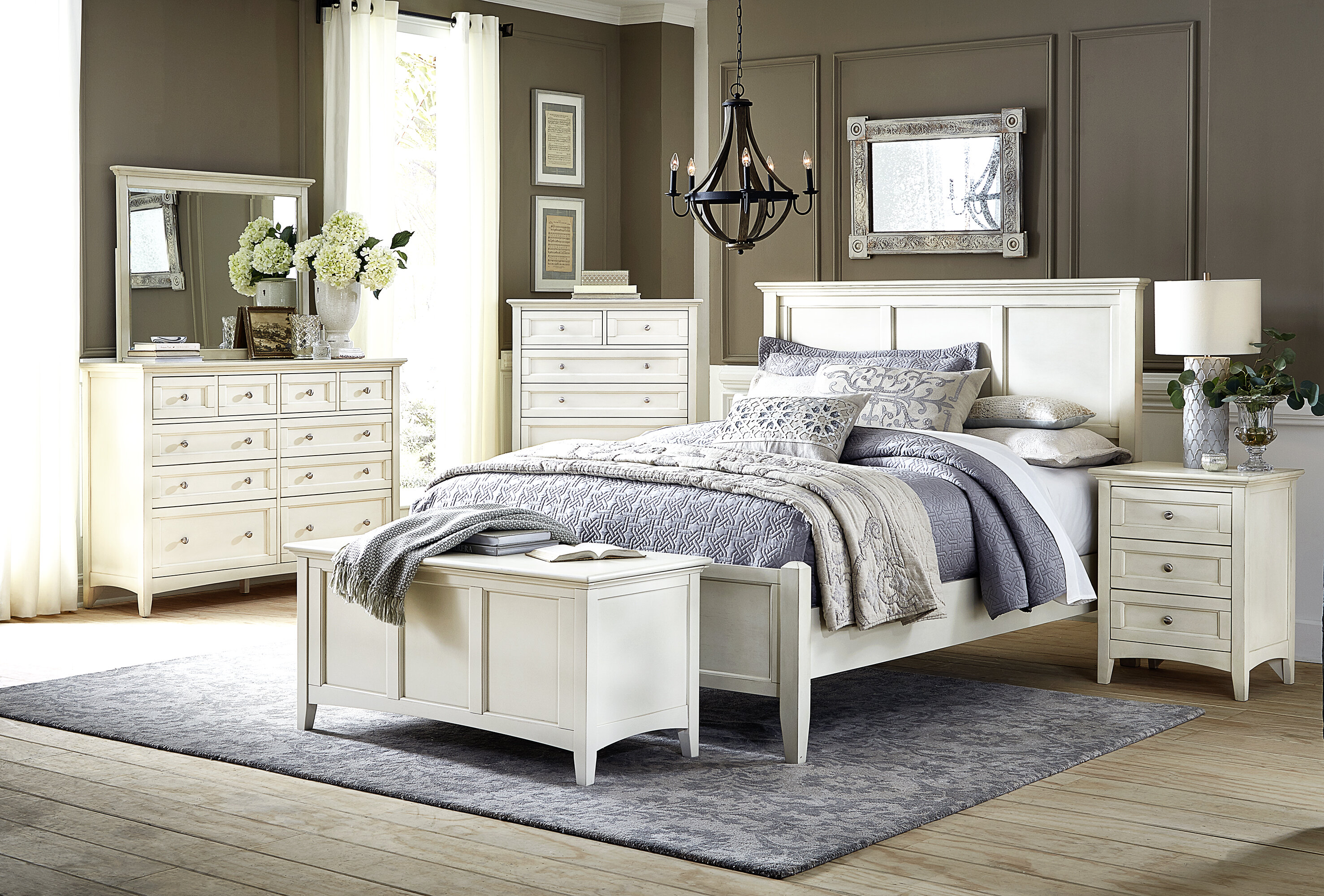 Alcott Hill Burris Standard Configurable Bedroom Set Reviews Wayfair