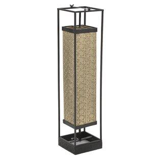 Rectangular floor lamps wayfair villeroy metallic 80cm column floor lamp aloadofball Gallery