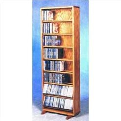 Wood Shed 800 Series 336 CD Dowel Multimedia Storage Rack