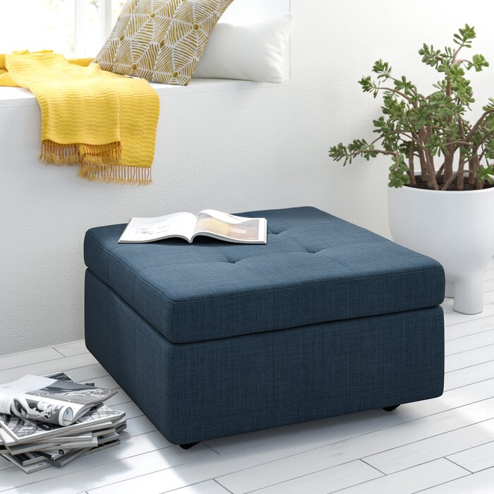 Astonishing Nona Tufted Storage Ottoman Gmtry Best Dining Table And Chair Ideas Images Gmtryco