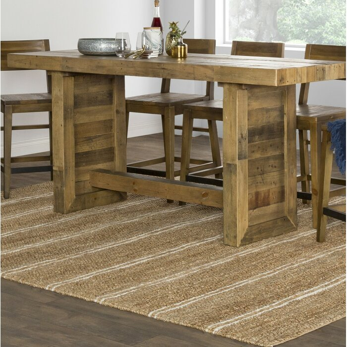 Abbey Counter Height Solid Wood Dining Table