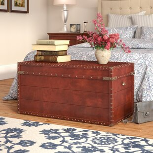 Mckittrick Coffee Table Trunk by Three Posts