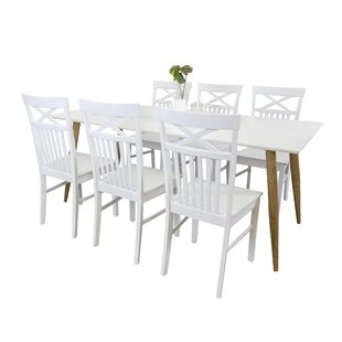 Morrilton Dining Set With 6 Chairs By Brambly Cottage
