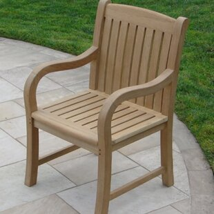 Teakwood Patio Dining Chair by Royal Teak by Lanza Products Savings