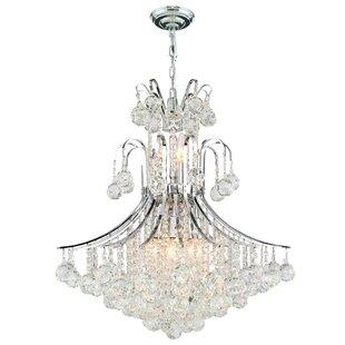 House of Hampton Carson 11-Light Crystal Chandelier