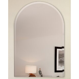 Best Arch with Hooks Bathroom/Vanity Mirror By Fab Glass and Mirror