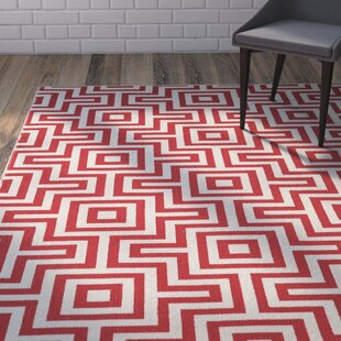 Find for Rahul Hand-Woven Red Indoor/Outdoor Area Rug Price comparison