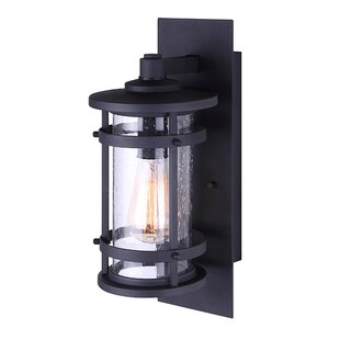 Read Reviews Wilhite Outdoor Wall Lantern By Breakwater Bay