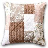 Bearcreek Patchwork Floral Cotton Euro Pillow Cover