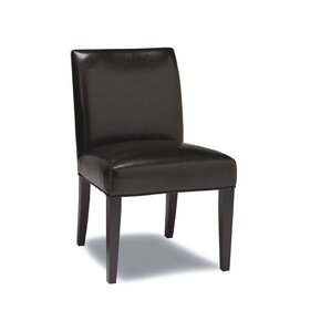 Abraham Genuine Leather Upholstered Dining Chair (Set of 2) by Sofas to Go