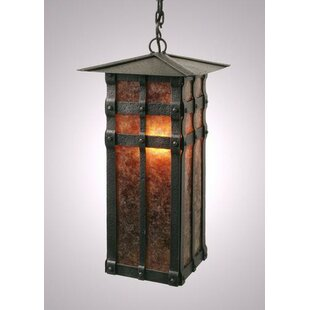Steel Partners San Carlos 1-Light Outdoor Hanging Lantern