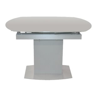 Latitude Run Pekalongan Swirl Extendable Dining Table
