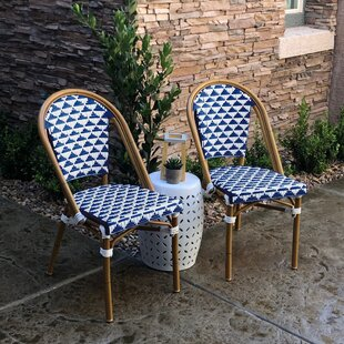Dirks Stackable Patio Dining Chair