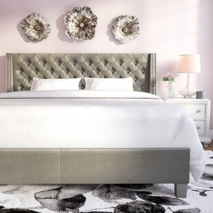 Swanson Upholstered Platform Bed by House of Hampton