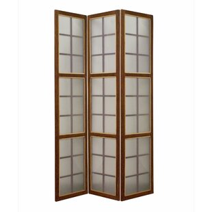 Matthies 3 Panel Room Divider by Millwood Pines