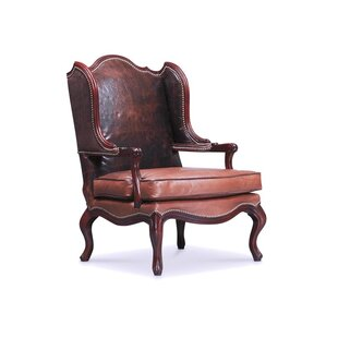 Benedict Wingback Chair by Leathercraft