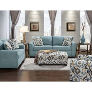 Roundhill Furniture Mazemic 2 Piece Living Room Set