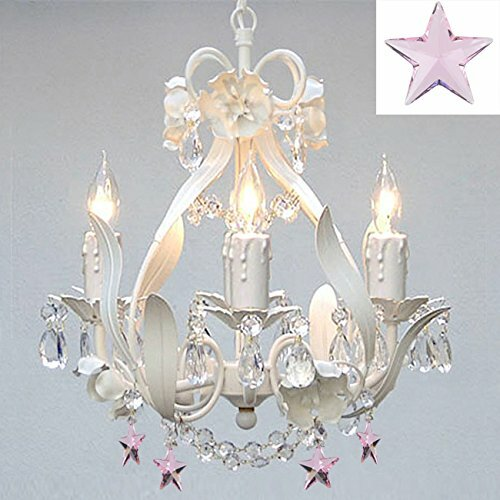 Willa Arlo Interiors Barrie Floral 4-Light Crystal Chandelier ...