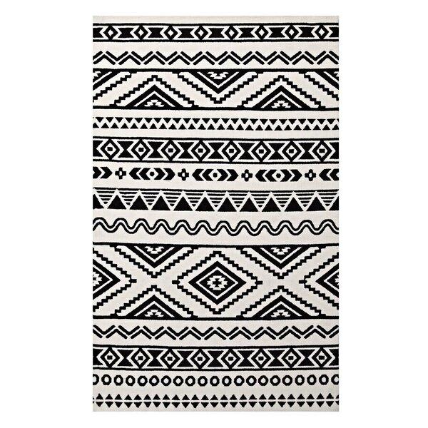 Charmant Ivy Bronx Freedman Geometric Moroccan Tribal Black/White Area Rug U0026 Reviews  | Wayfair